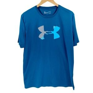 Under Armour Tee Distorted Logo Loose HeatGear L